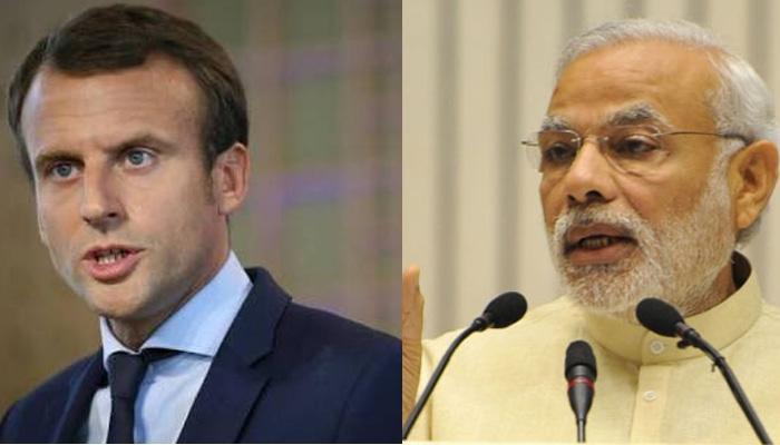 PM मोदी ने फ्रांस के नए राष्ट्रपति को दी बधाई :