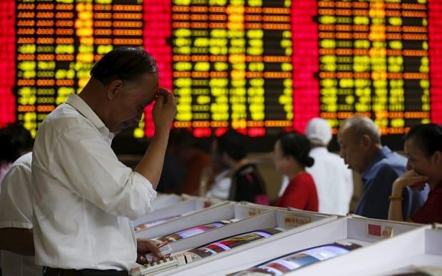 शेयर बाजारों में कारोबार गिरावट के साथ बंद हुआ :