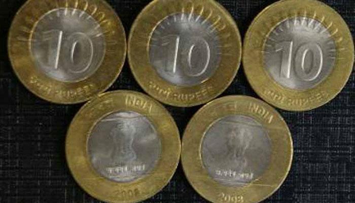 10 रुपयों के सिक्कों पर