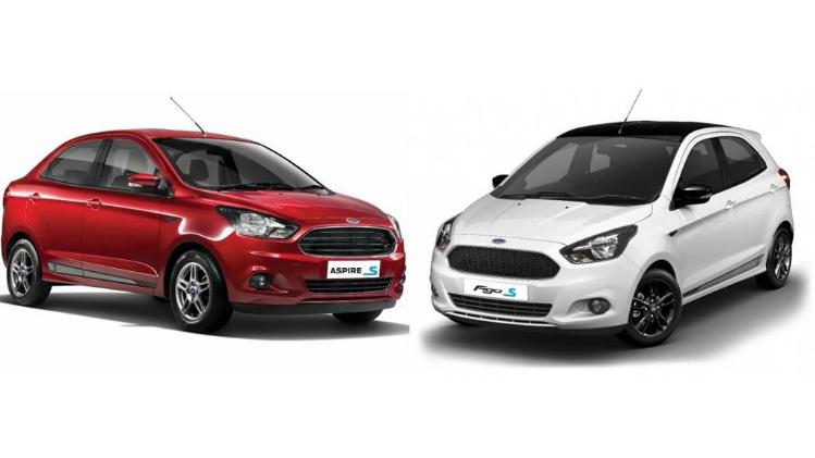 Ford ने लॉन्च किया Figo और Aspire का स्पोर्ट्स एडिशन :