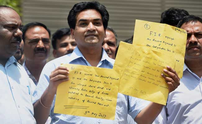 कपिल मिश्रा : अरविंद केजरीवाल के जवाब को दिया नया रूप