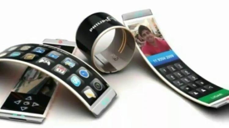 """कागज की तरह मुड़ने वाला मोबाइल फोन """"ग्रैफीन"""" से बन सकता है :"""