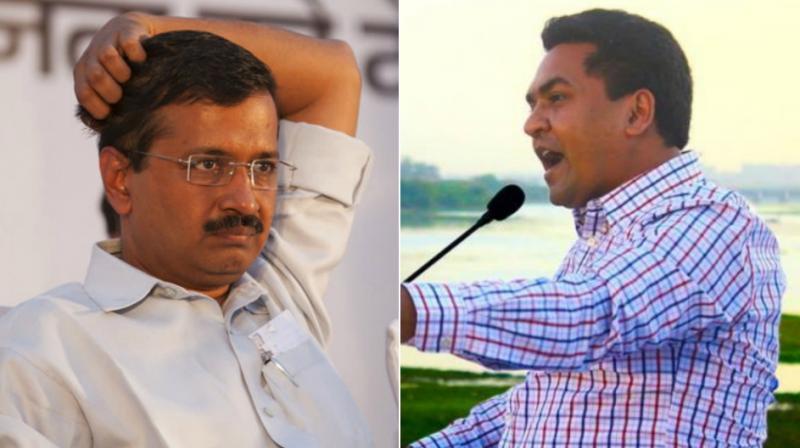 कपिल मिश्रा करेंगे आज फिर केजरीवाल के खिलाफ नया खुलासा :