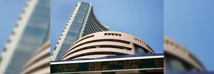 शेयर बाजार : सेंसेक्स 11.79 और निफ्टी 7.10 अंकों की गिरावट के साथ खुला