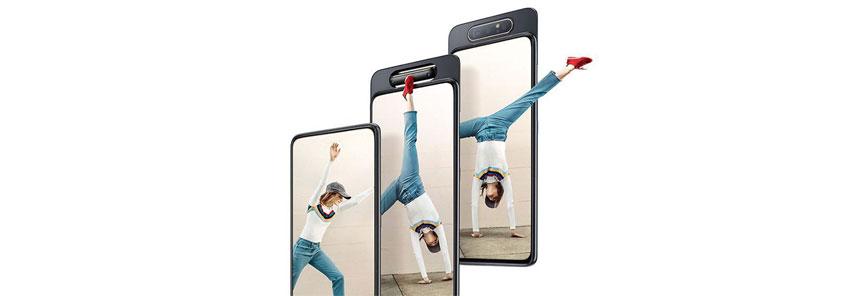 Samsung Galaxy A80 हुआ लॉन्च, दुनिया का पहला 48MP वाला रोटेटिंग ट्रिपल कैमरा फोन के साथ: